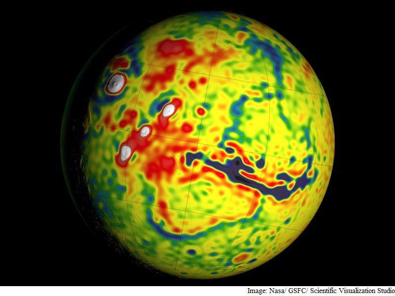 New Mars Gravity Map Gives Best View Yet Inside the Red Planet