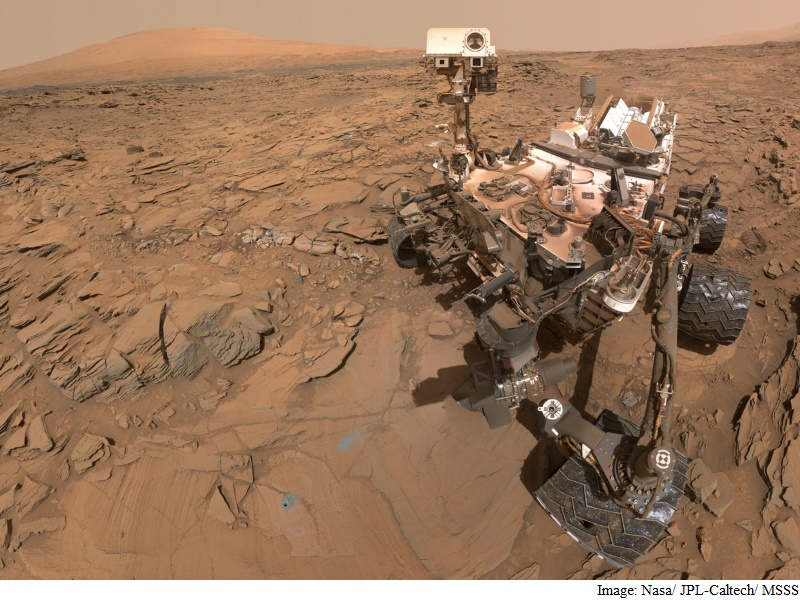NASA's Curiosity Mars Rover Completes 2,000 Days on Mars