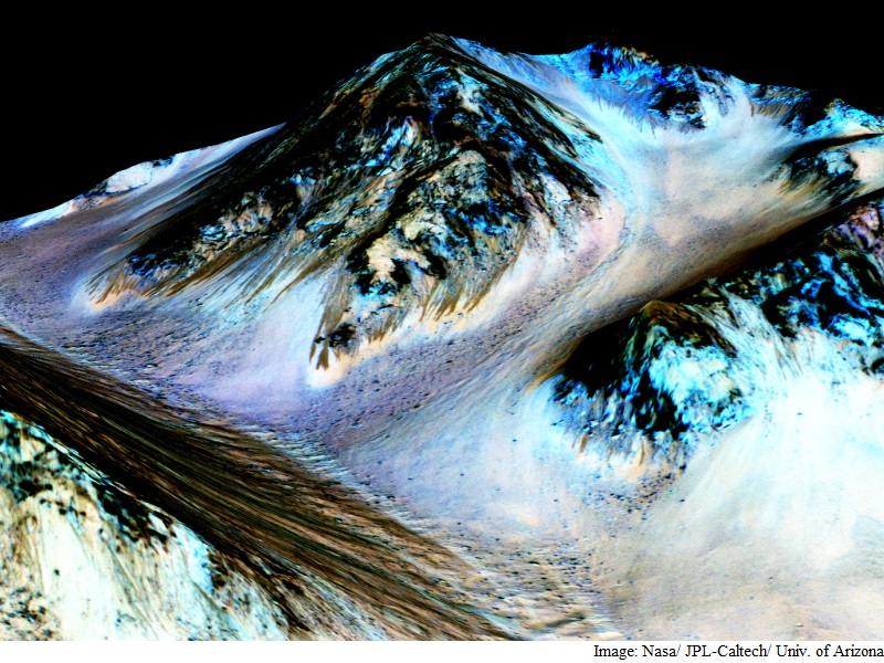 Mars Water Find Boosts Quest for Extra-Terrestrial Life