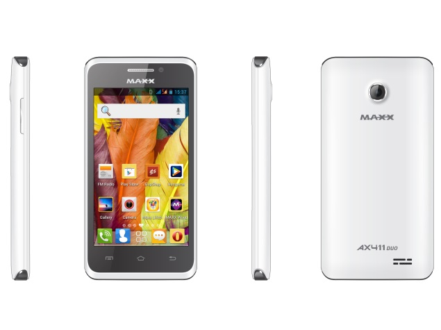 Maxx AX411 Duo with 4-inch IPS display launched at Rs. 3,999