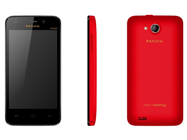 Maxx AXD21 MSD7 Smarty With Android 4.4 KitKat Launched at Rs. 4,020