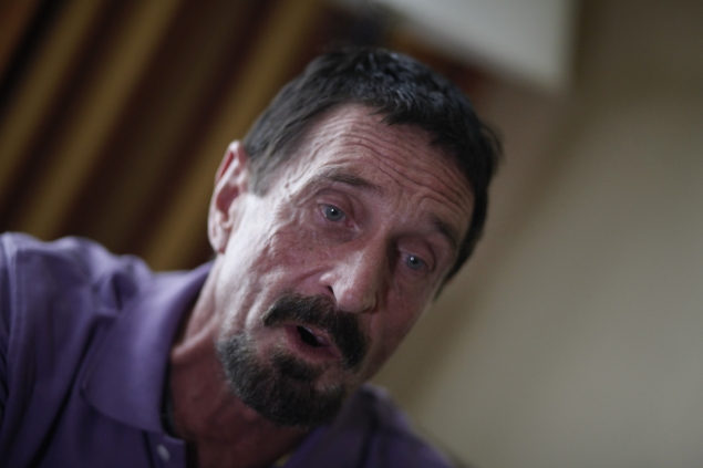 Guatemala detains John McAfee, to expel him to Belize