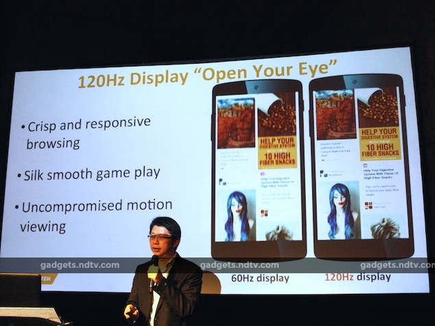 MediaTek Helio X10 64-bit SoC With 120Hz Display Support Launched at MWC 2015