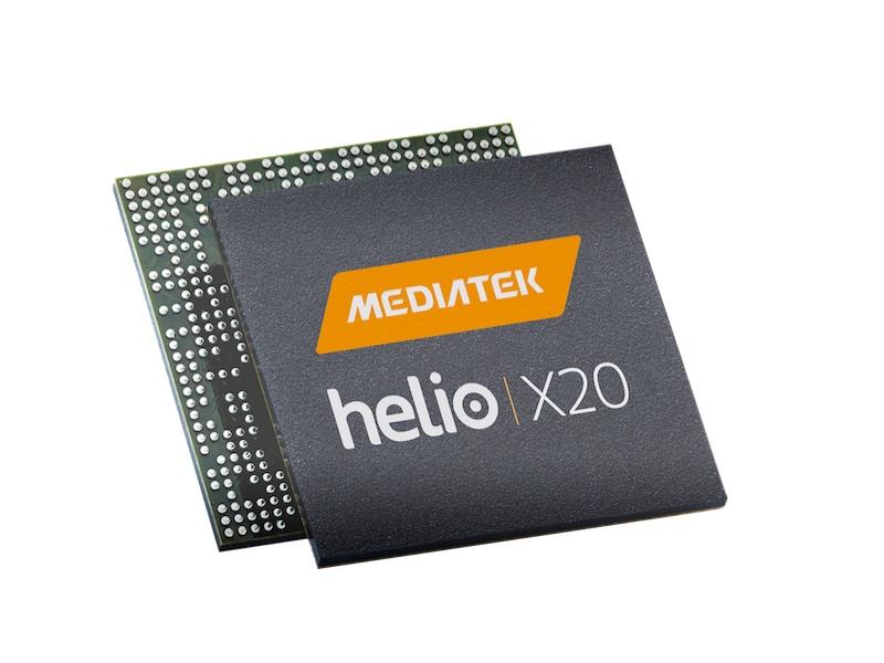 MediaTek's Deca-Core Helio X20 Ships Next Month; Helio X25 Goes Official