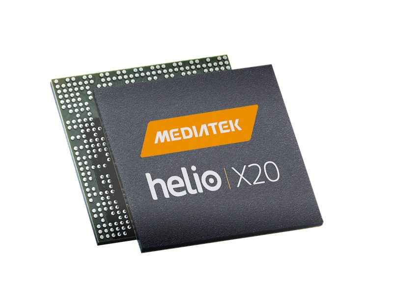 MediaTek's Deca-Core Helio X20 Ships Next Month; Helio X25 Goes Official