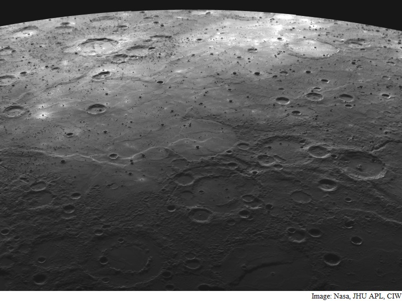 Mercury's 'Darkness' Now Thought to Be Due to Ancient Carbon Crust