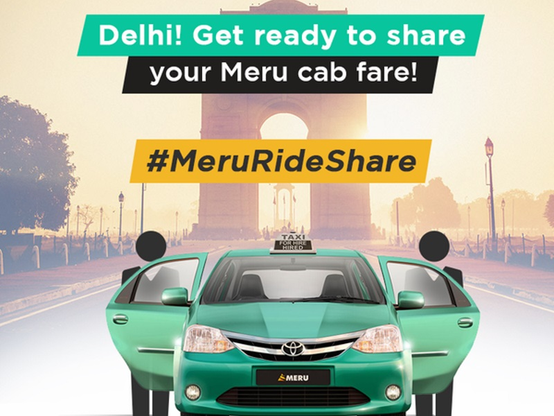 Meru Cabs Launches Ride-Share Feature Ahead of Delhi's Odd-Even Trial