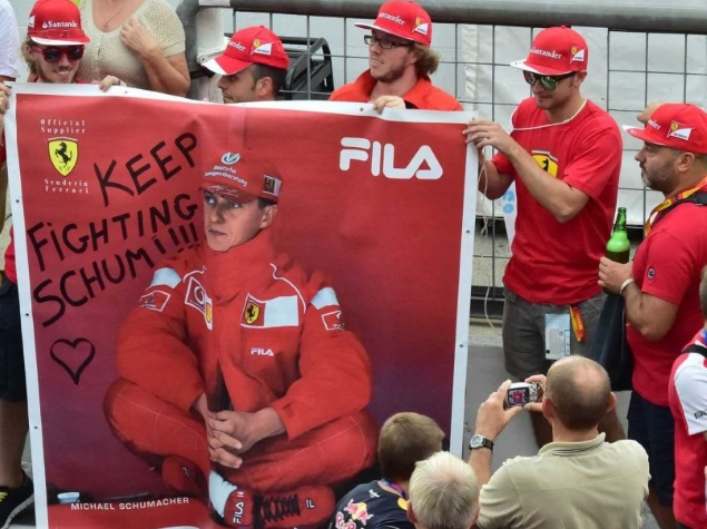 Michael Schumacher's fans have been waiting to hear about his recovery for years now