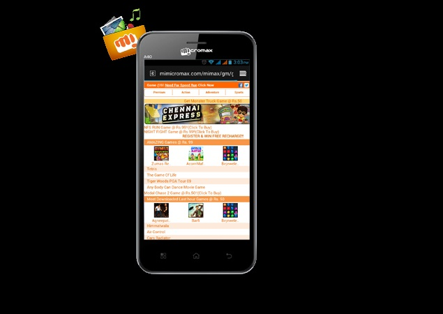 Micromax Bolt A40 dual-SIM smartphone listed online