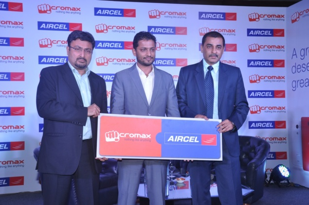 Aircel, Micromax announce strategic partnership, bundled offers