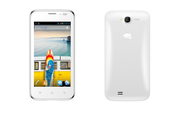 Micromax Bolt A66 with 4.5-inch display, Android 4.1 listed on official site