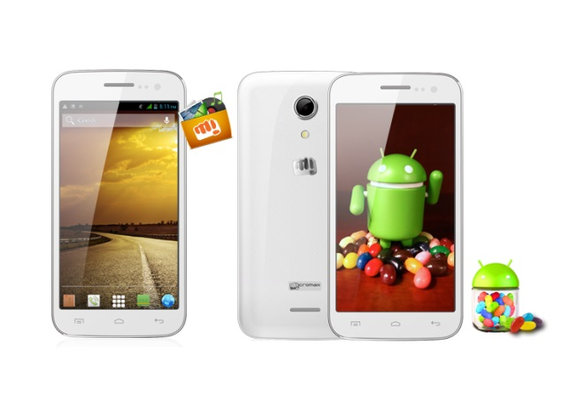 Micromax A114 Canvas 2.2 with 5-inch display, Android 4.2 listed on official site