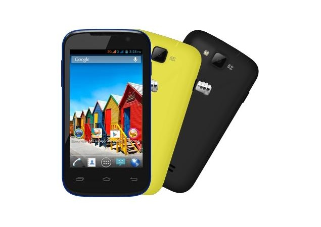 Micromax Canvas Fun A63 with Android 4.2 available online for Rs. 6,799