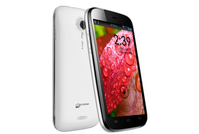 Micromax Canvas HD A116i with quad-core processor available online