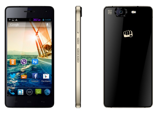 Micromax Canvas Knight and Canvas Tube purportedly leaked with specifications