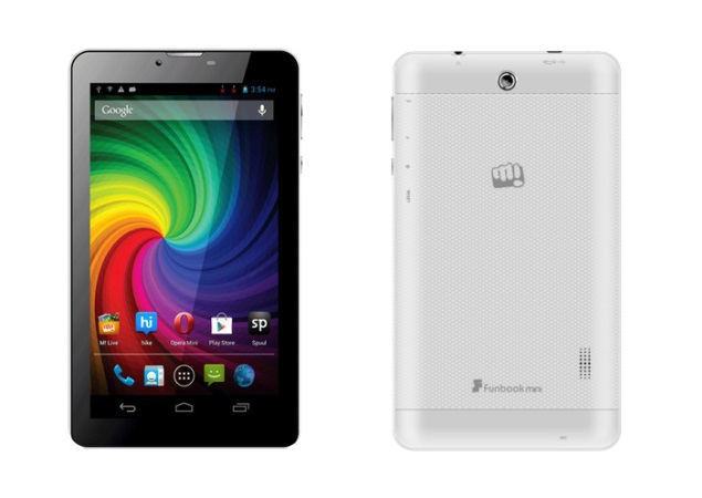 Micromax Funbook Mini tablet with voice-calling listed online for Rs. 8,820