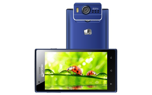Micromax Bolt A075 with 5.2-inch display, Android 4.0 listed on company site
