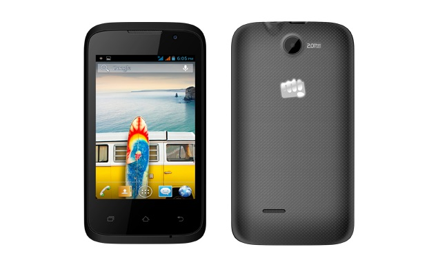 Micromax Bolt A37B with 3G connectivity, Android 4.2 launched at Rs. 4,700