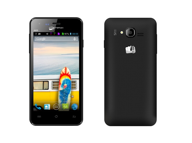 Micromax Bolt A69 With 3G Support Now Available Online at Rs. 6,599
