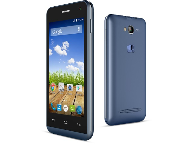 Micromax Bolt Q324 With 4-Inch Display Now Available Online at Rs. 3,990
