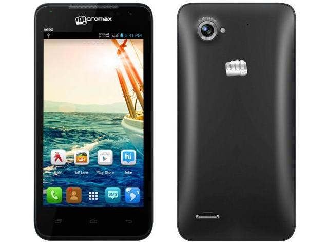 Micromax Canvas Duet AE90 With GSM-CDMA Support Available Online at Rs. 8,999
