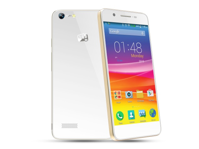 Micromax Canvas Hue With 3000mAh Battery Launched at Rs. 10,999