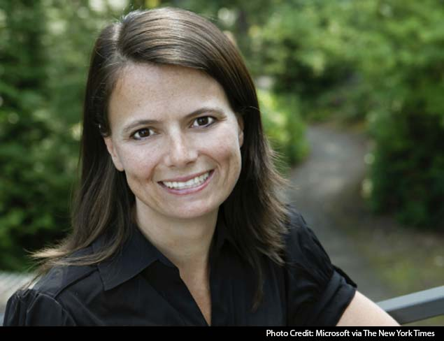 Microsoft names first woman to its finance post