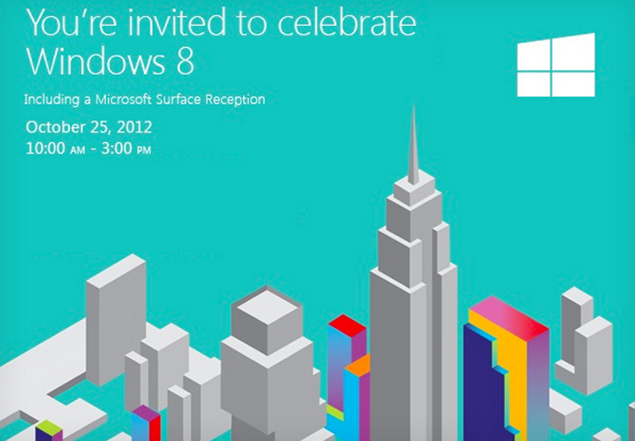 Microsoft to launch Surface tablets at midnight on October 26