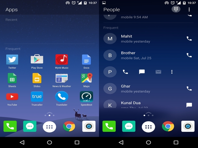 Microsoft's Arrow Launcher for Android Reminds Us of Yahoo's Aviate