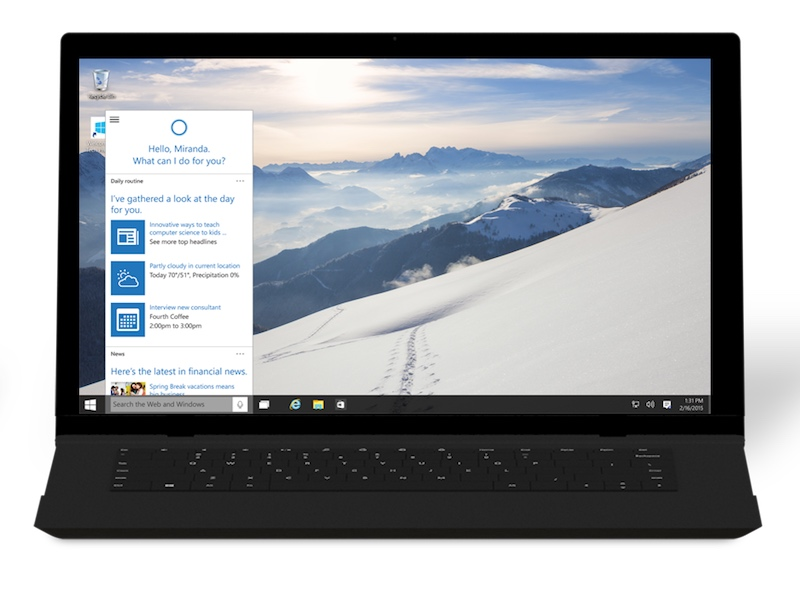 Microsoft Blocks Cortana From Searching Google on Windows 10