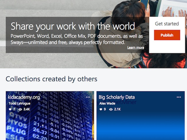 Microsoft 'Docs' Document Sharing Platform Now Available to All