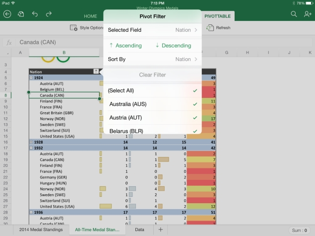 Microsoft Office for iPad Update Brings Export to PDF, and More