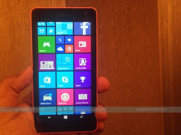 Microsoft Lumia 535 Dual SIM: First Impressions
