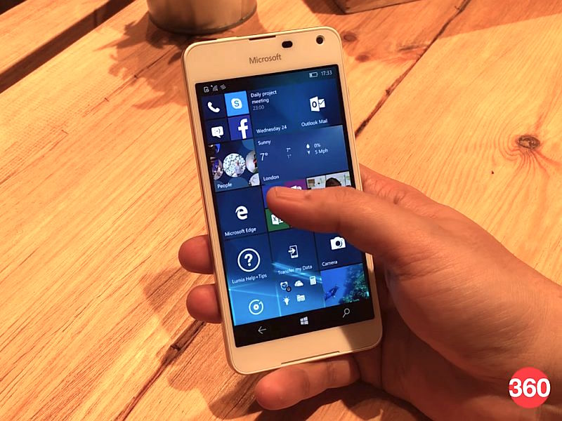 Microsoft Lumia 650 Dual SIM Listed Online at Rs. 16,599