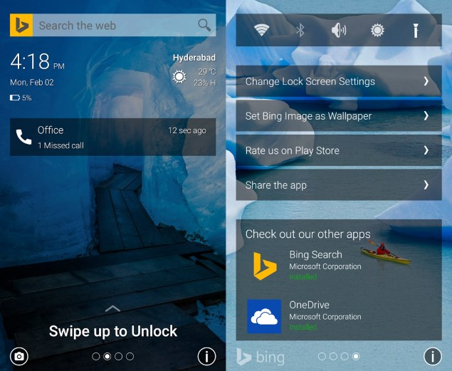 Microsoft Picturesque Lock Screen App for Android Now Available for Download