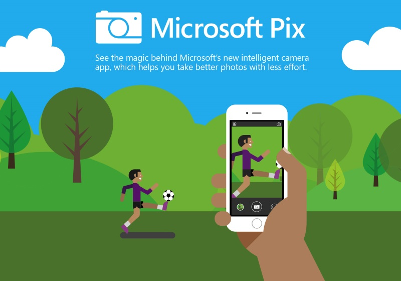 Microsoft's New Pix Camera App Wants to Help You Click Better Pictures