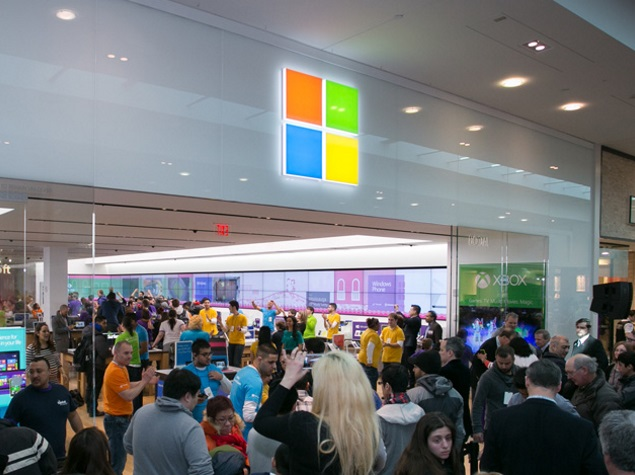 Microsoft Profit Dips as Revenue Rises