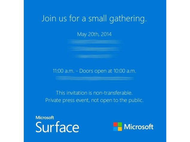 microsoft fuels surface mini speculation with small event invites