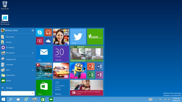 Windows 10 to Offer 'New Ways to Work, Play and Connect'