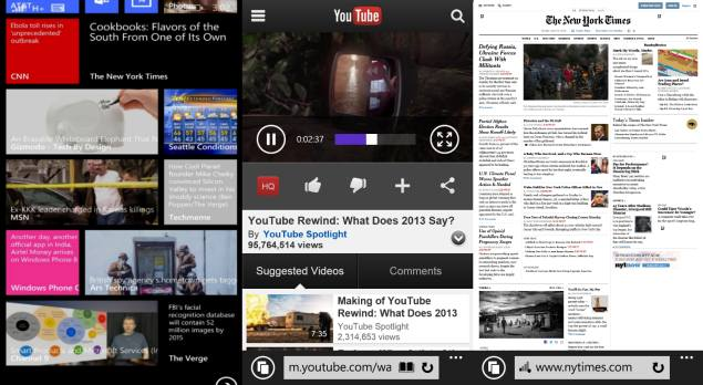 Microsoft Details Features of Internet Explorer 11 for Windows Phone 8.1