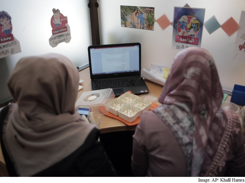 In War-Torn Gaza, a Tiny High-Tech Sector Emerges