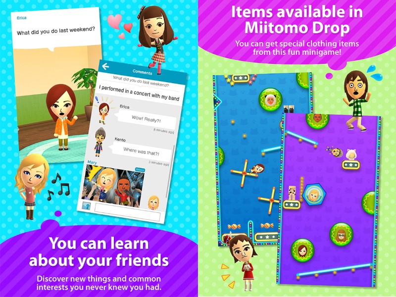 Nintendo's First Smartphone Game 'Miitomo' Finally Released