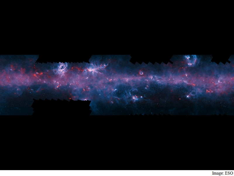 Map of Milky Way's Star-Forming Gases Lend a Stunning View of the Galaxy