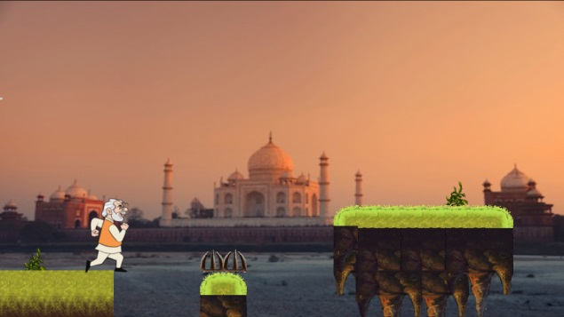 Narendra Modi-inspired Modi Run game available free for Android