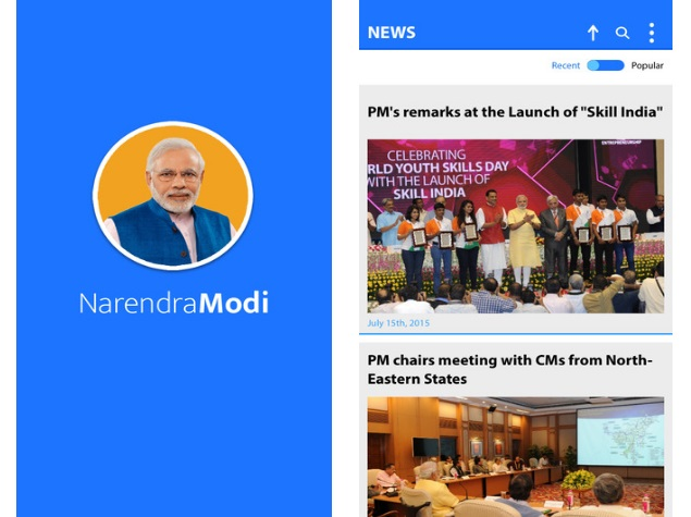 Narendra Modi Mobile App Now Available for iOS Users