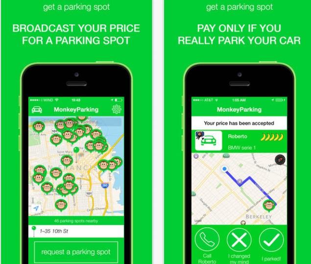 Parking Spot App >> San Francisco Parking Spot App Monkeyparking Shuts Down Service