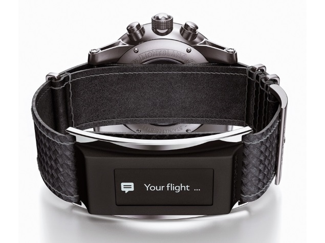 Montblanc Unveils 'e-Strap' That'll Turn Its Watches Into Smartwatches