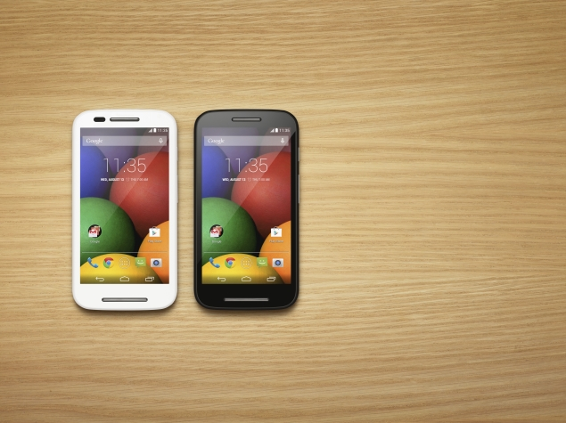 Moto E Now Back in Stock in Limited Quantities: Flipkart