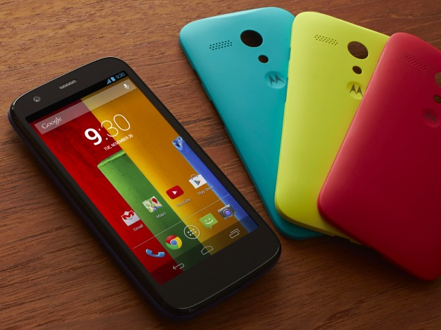 Motorola India Claims to Have Sold 2.5 Million Smartphones This Year