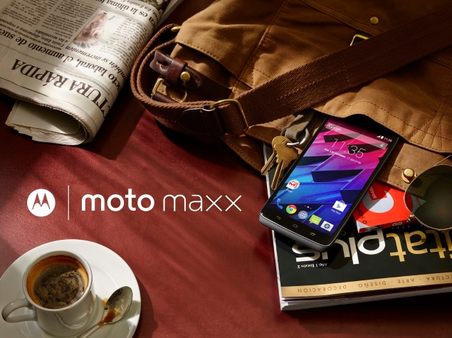 Motorola Moto Maxx India Launch Teased by Flipkart
